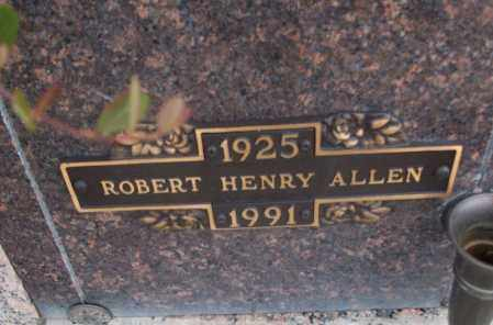 ALLEN, ROBERT HENRY - White County, Arkansas | ROBERT HENRY ALLEN - Arkansas Gravestone Photos