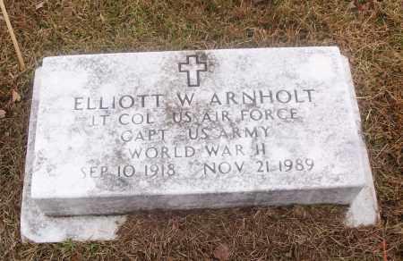 ARNHOLT  (VETERAN WWII), ELLIOTT W - White County, Arkansas   ELLIOTT W ARNHOLT  (VETERAN WWII) - Arkansas Gravestone Photos