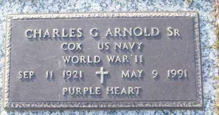 ARNOLD, SR (VETERAN WWII), CHARLES G - White County, Arkansas | CHARLES G ARNOLD, SR (VETERAN WWII) - Arkansas Gravestone Photos
