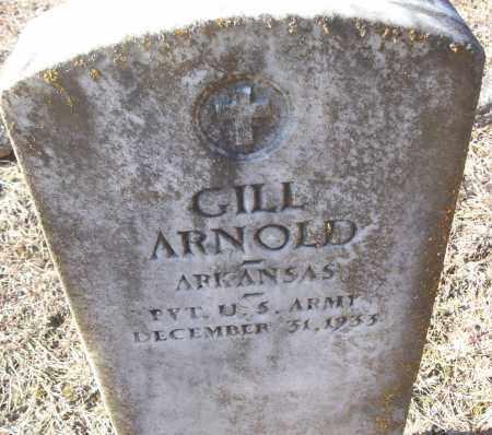 ARNOLD (VETERAN), GILL - White County, Arkansas | GILL ARNOLD (VETERAN) - Arkansas Gravestone Photos