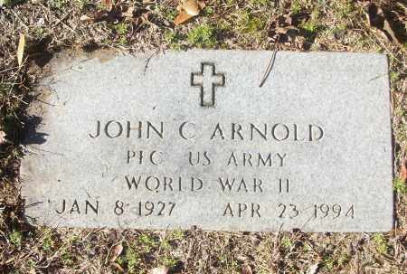 ARNOLD (VETERAN WWII), JOHN C - White County, Arkansas | JOHN C ARNOLD (VETERAN WWII) - Arkansas Gravestone Photos