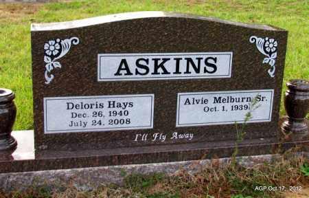 ASKINS, DELORIS - White County, Arkansas | DELORIS ASKINS - Arkansas Gravestone Photos