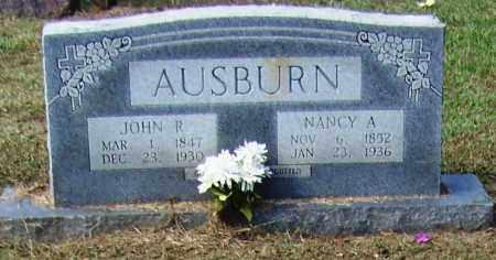 AUSBURN, JOHN R - White County, Arkansas   JOHN R AUSBURN - Arkansas Gravestone Photos