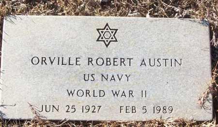 AUSTIN (VETERAN WWII), ORVILLE ROBERT - White County, Arkansas   ORVILLE ROBERT AUSTIN (VETERAN WWII) - Arkansas Gravestone Photos
