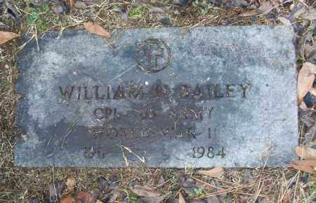 BAILEY (VETERAN WWI), WILLIAM H - White County, Arkansas | WILLIAM H BAILEY (VETERAN WWI) - Arkansas Gravestone Photos