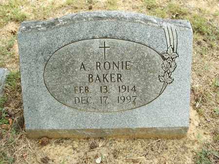 CATO BAKER, ANNIE RONIE - White County, Arkansas | ANNIE RONIE CATO BAKER - Arkansas Gravestone Photos