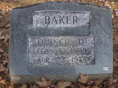 BAKER, QUINCIE DOYLE - White County, Arkansas   QUINCIE DOYLE BAKER - Arkansas Gravestone Photos