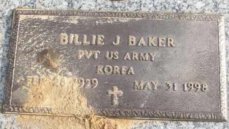 BAKER (VETERAN KOR), BILLIE J - White County, Arkansas   BILLIE J BAKER (VETERAN KOR) - Arkansas Gravestone Photos