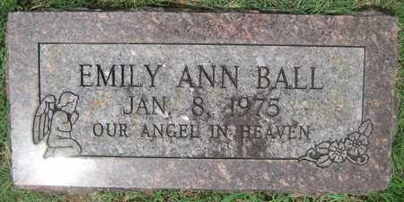 BALL, EMILY ANN - White County, Arkansas   EMILY ANN BALL - Arkansas Gravestone Photos