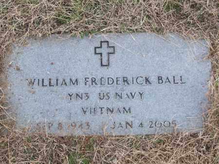 BALL (VETERAN VIET), WILLIAM FREDERICK - White County, Arkansas   WILLIAM FREDERICK BALL (VETERAN VIET) - Arkansas Gravestone Photos