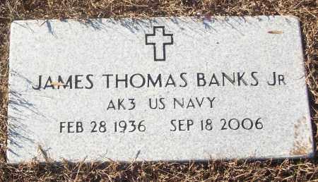 BANKS, JR (VETERAN), JAMES THOMAS - White County, Arkansas | JAMES THOMAS BANKS, JR (VETERAN) - Arkansas Gravestone Photos