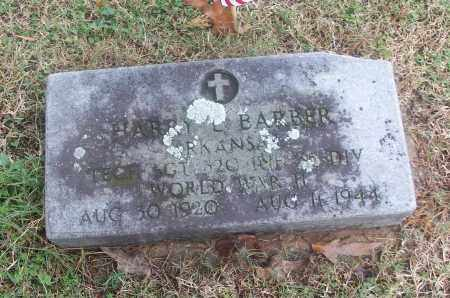 BARBER  (VETERAN WWII), HARRY L - White County, Arkansas | HARRY L BARBER  (VETERAN WWII) - Arkansas Gravestone Photos