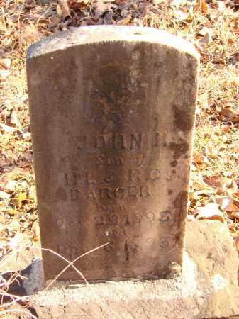 BARGER, JOHN H - White County, Arkansas | JOHN H BARGER - Arkansas Gravestone Photos
