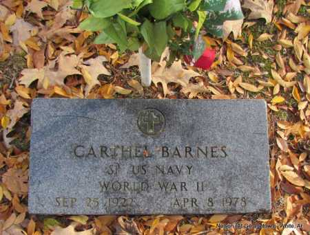 BARNES (VETERAN WWII), CARTHEL - White County, Arkansas | CARTHEL BARNES (VETERAN WWII) - Arkansas Gravestone Photos