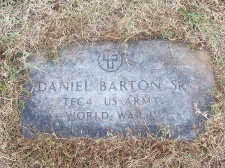 BARTON,  SR  (VETERAN WWII), DANIEL - White County, Arkansas | DANIEL BARTON,  SR  (VETERAN WWII) - Arkansas Gravestone Photos
