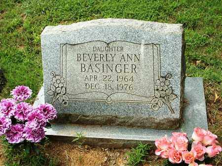 BASINGER, BEVERLY ANN - White County, Arkansas   BEVERLY ANN BASINGER - Arkansas Gravestone Photos