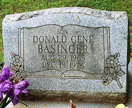 BASINGER, DONALD GENE - White County, Arkansas | DONALD GENE BASINGER - Arkansas Gravestone Photos
