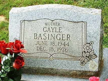 BASINGER, GAYLE - White County, Arkansas   GAYLE BASINGER - Arkansas Gravestone Photos