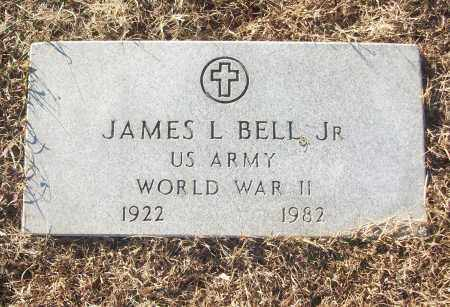 BELL, JR (VETERAN WWII), JAMES L - White County, Arkansas | JAMES L BELL, JR (VETERAN WWII) - Arkansas Gravestone Photos