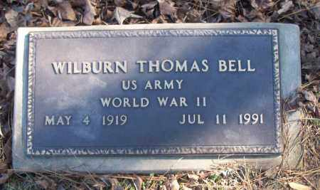 BELL (VETERAN WWII), WILBURN THOMAS - White County, Arkansas | WILBURN THOMAS BELL (VETERAN WWII) - Arkansas Gravestone Photos