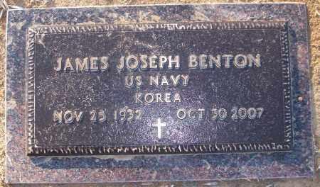 BENTON (VETERAN KOR), JAMES JOSEPH - White County, Arkansas | JAMES JOSEPH BENTON (VETERAN KOR) - Arkansas Gravestone Photos