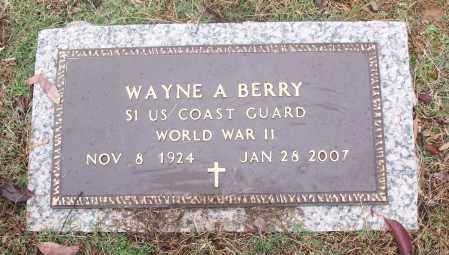 BERRY  (VETERAN WWII), WAYNE A - White County, Arkansas | WAYNE A BERRY  (VETERAN WWII) - Arkansas Gravestone Photos