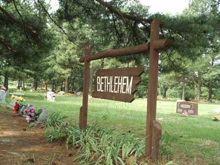 *BETHLEHAM CEMETERY,  - White County, Arkansas |  *BETHLEHAM CEMETERY - Arkansas Gravestone Photos