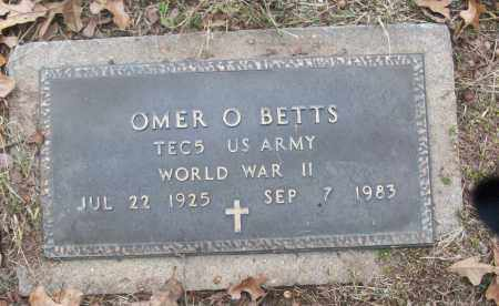 BETTS (VETERAN WWII), OMER O. - White County, Arkansas | OMER O. BETTS (VETERAN WWII) - Arkansas Gravestone Photos