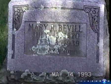 SPRINGER BEVILL, MARY R. 'MACK' - White County, Arkansas | MARY R. 'MACK' SPRINGER BEVILL - Arkansas Gravestone Photos