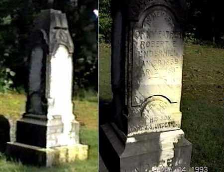 UNDERHILL, ROBERT E - White County, Arkansas | ROBERT E UNDERHILL - Arkansas Gravestone Photos