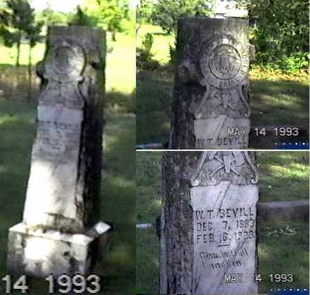 BEVILL, WILLIAM THOMAS - White County, Arkansas | WILLIAM THOMAS BEVILL - Arkansas Gravestone Photos
