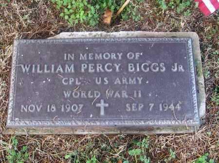 BIGGS, JR  (VETERAN WWII), WILLAIM PERCY - White County, Arkansas | WILLAIM PERCY BIGGS, JR  (VETERAN WWII) - Arkansas Gravestone Photos