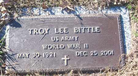 BITTLE (VETERAN WWII), TROY LEE - White County, Arkansas   TROY LEE BITTLE (VETERAN WWII) - Arkansas Gravestone Photos