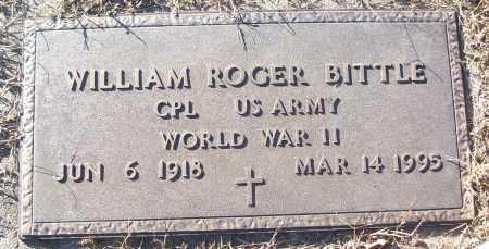 BITTLE (VETERAN WWII), WILLIAM ROGER - White County, Arkansas   WILLIAM ROGER BITTLE (VETERAN WWII) - Arkansas Gravestone Photos