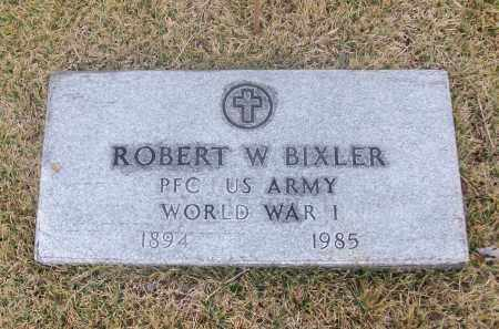 BIXLER  (VETERAN WWI), ROBERT W - White County, Arkansas | ROBERT W BIXLER  (VETERAN WWI) - Arkansas Gravestone Photos