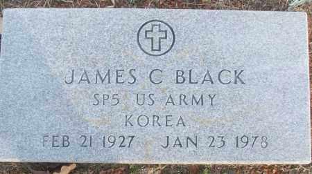 BLACK (VETERAN KOR), JAMES C - White County, Arkansas | JAMES C BLACK (VETERAN KOR) - Arkansas Gravestone Photos