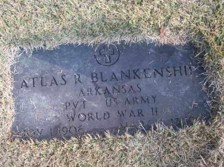 BLANKENSHIP  (VETERAN  WWII), ATLAS R - White County, Arkansas | ATLAS R BLANKENSHIP  (VETERAN  WWII) - Arkansas Gravestone Photos