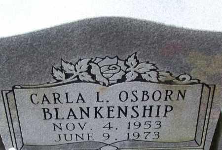 OSBORN BLANKENSHIP, CARLA L. - White County, Arkansas   CARLA L. OSBORN BLANKENSHIP - Arkansas Gravestone Photos