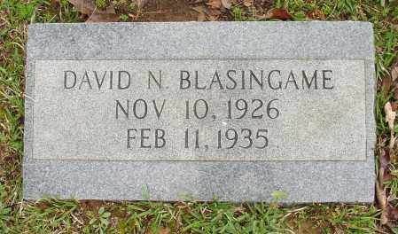 BLASINGAME, DAVID N. - White County, Arkansas | DAVID N. BLASINGAME - Arkansas Gravestone Photos