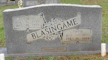BLASINGAME, EFFIE - White County, Arkansas | EFFIE BLASINGAME - Arkansas Gravestone Photos