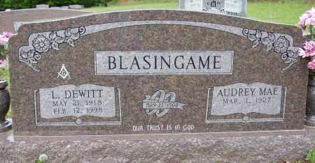 BLASINGAME (WWII & KOREA), LEONARD DEWITT - White County, Arkansas   LEONARD DEWITT BLASINGAME (WWII & KOREA) - Arkansas Gravestone Photos