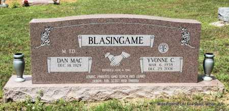 BLASINGAME, YVONNE C. - White County, Arkansas   YVONNE C. BLASINGAME - Arkansas Gravestone Photos