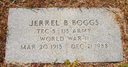 BOGGS (VETERAN WWII), JERRELL B - White County, Arkansas   JERRELL B BOGGS (VETERAN WWII) - Arkansas Gravestone Photos
