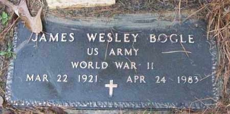 BOGLE (VETERAN WWII), JAMES WESLEY - White County, Arkansas | JAMES WESLEY BOGLE (VETERAN WWII) - Arkansas Gravestone Photos