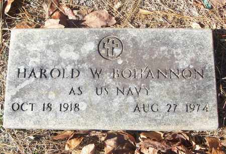 BOHANNON (VETERAN), HAROLD W - White County, Arkansas | HAROLD W BOHANNON (VETERAN) - Arkansas Gravestone Photos