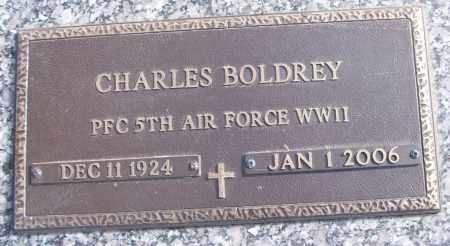 BOLDREY (VETERAN WWII), CHARLES - White County, Arkansas   CHARLES BOLDREY (VETERAN WWII) - Arkansas Gravestone Photos