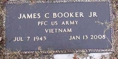 BOOKER, JR (VETERAN VIET), JAMES C - White County, Arkansas | JAMES C BOOKER, JR (VETERAN VIET) - Arkansas Gravestone Photos