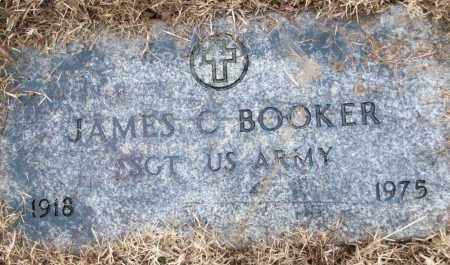 BOOKER (VETERAN), JAMES C - White County, Arkansas | JAMES C BOOKER (VETERAN) - Arkansas Gravestone Photos