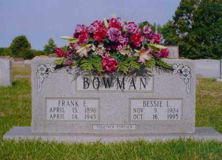 BOWMAN, FRANK EDWARD - White County, Arkansas | FRANK EDWARD BOWMAN - Arkansas Gravestone Photos