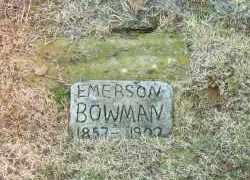 BOWMAN, ROBERT EMERSON - White County, Arkansas   ROBERT EMERSON BOWMAN - Arkansas Gravestone Photos